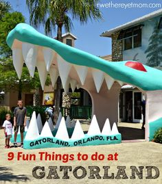 9 Fun Things to Do Gatorland ~ Kissimmee, FL - R We There Yet Mom? | Family Travel for Texas and beyond...