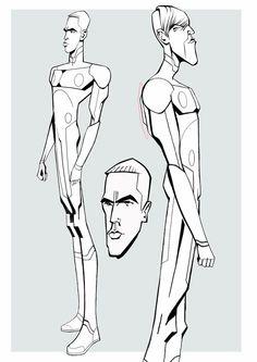 Character Concept, Character Art, Concept Art, Character Design Animation, Character Design References, Cartoon Styles, Cartoon Art, Tron Uprising, Science Fiction
