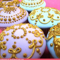 gilded age cupcakes