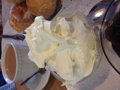 Devonshire clotted cream... *drool* oh how I miss a proper English tea!