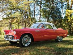 1956 Ford Thunderbird Classic Car.... it was classic then, it is classic now!! I love this car; I'm not a car person, but I LOVE this one :)