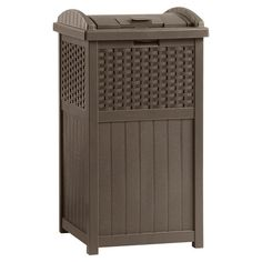 Found it at Wayfair - 33 Gallon Trash Hideaway Trash Receptacle
