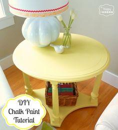 DIY Tutorial - Chalk Paint