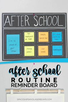 After School Organization Ideas