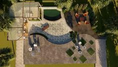 Landscape animation #landscape Modern Landscape Design, Traditional Landscape, Urban Landscape, Architecture Building Design, Landscape Architecture, Watercolor Landscape, Landscape Paintings, Animation, Modern Landscaping