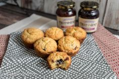 Delicious Jam Filled Muffins make the perfect addition to your holiday brunch or even a great late night snack. #ad #EasyHolidayEats