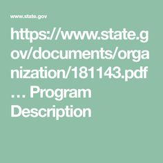https://www.state.gov/documents/organization/181143.pdf �  Program Description