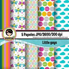 Little Guys por SadaiSkraps en Etsy