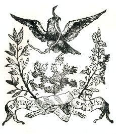 Escudo Acta Constitutiva de México 1824