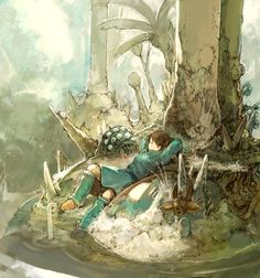 Nausicaa - I LOVE this pic, it was my phone background for a while!