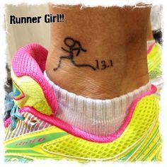 My running tattoo...