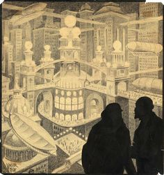 Winsor McCay, It is the city of Philyorgo by night, 1950
