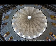 The towering cupola of the Church of the Annunciation in Nazareth stands over the cave that tradition holds to be the home of the Virgin Mary.