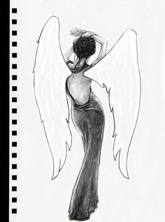 Quick sketch. I wish I had wings.