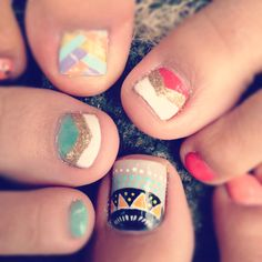 Graphic Toenail Designs!  If you have a toenail fungus problem, come to Beautiful Toenails in Southfield, MI!  Call (248) 945-1000 TODAY to set up an appointment with us or visit our website www.toenailfungu.pro to find out more information!