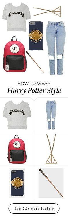 """""""Harry Potter BTS"""" by disneygal3 on Polyvore featuring Topshop"""