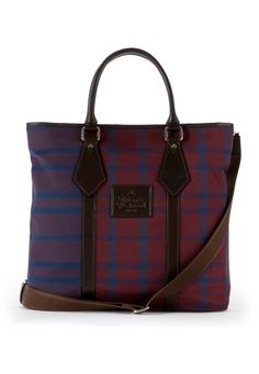 Man Tartan Bag, Vivienne Westwood