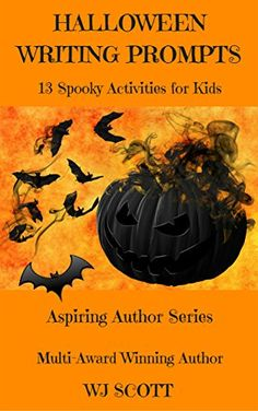 [Children's eBooks][Free] Halloween Writing Prompts: 13 Spooky Activities For Kids (Aspiring Author Series) Color Activities, Activities For Kids, Halloween Writing Prompts, Spooky Stories, Indie Books, Promotion, Have Fun, Bats, Ghosts