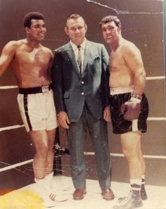 Rocky Marciano and Mohammed Ali