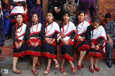 Newari Girls