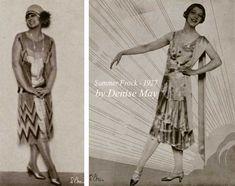 Downton Abbey Fashion Era -  1927-summer-frocks