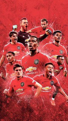 Manchester United Poster, Manchester United Old Trafford, Manchester United Legends, Manchester United Players, Team Wallpaper, Football Wallpaper, Manchester United Wallpapers Iphone, Man Utd Fc, Soccer Uniforms