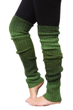 Benvärmare grön Leg Warmers, Socks, Yoga, Knitting, Crochet, Fashion, Leg Warmers Outfit, Moda, Tricot