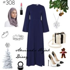 Aminah´s Hijab Diary #hijab #modest #fashion #style #look #outfit #ootd #festive #inayah #germany #muslimah #winter