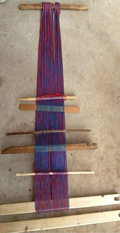 karen back strap loom -Pinned by Becca