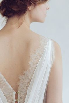 dress Silk wedding - Silk wedding dress // Amalthea / Lace wedding gown, summer wedding dress, bohemian wedding, boho style dress, open back bridal gown Simple Wedding Gowns, Western Wedding Dresses, Bohemian Wedding Dresses, Bridal Dresses, Lace Wedding, Mermaid Wedding, Backless Wedding, Bohemian Weddings, Bridesmaid Dresses