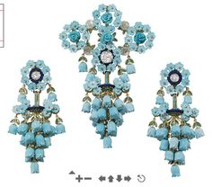 Brooch and Earrings  Christie's