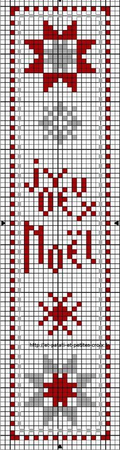 Grille gratuite marque page au fil de mes croix - Marque page point de croix grille gratuite ...