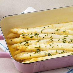 Rezept für Ofenspargel mit Zitronenbutter   Küchengötter