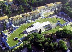 Image result for green roof atrium