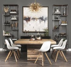 Awesome 105 Incredible Modern Farmhouse Dining Room Decor Ideas https://besideroom.co/105-incredible-modern-farmhouse-dining-room-decor-ideas/