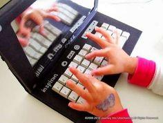 Oyuncak Laptop Yapımı - http://kendinyapblogu.com/oyuncak-laptop-yapimi/