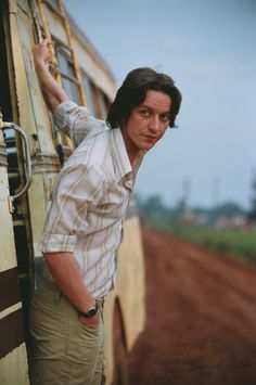 And then he got long hair and I nearly died. :-)  James Mcavoy