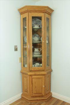 Hidden Cabinet, Small Cabinet, Tv Unit Furniture, Woodworking Furniture, Corner Curio, Unique Front Doors, Devon Cottages, Wooden Spice Rack, Indoor Bar