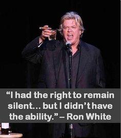 Right vs Ability – Ron White