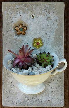 Deko aus Keramik und Beton
