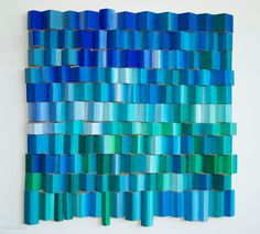Ripples - Oceanic - lucrare originala de arta abstracta