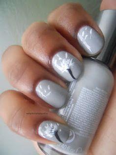 I love pinterest nail art =D