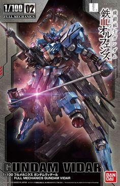 1/100 Full Mechanics Gundam Vidar - Release Info, Box art and Official Images - Gundam Kits Collection News and Reviews