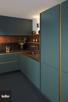 Kitchen Ceiling Design, Luxury Kitchen Design, Kitchen Room Design, Kitchen Layout, Home Decor Kitchen, Interior Design Kitchen, Casa Top, Kitchen Cupboard Designs, Classic Kitchen