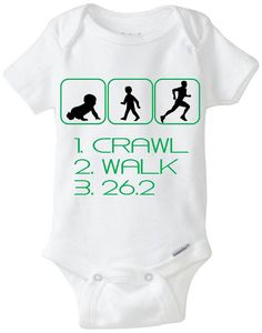 Funny Silhouette Baby Gift Gerber Onesie by LittleFroggySurfShop, $20.00