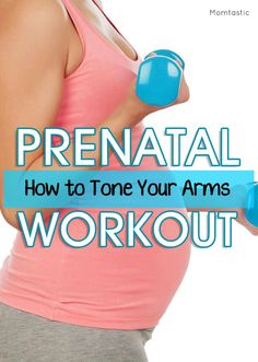Prenatal Workout: Toning Your Arms with Fitness Instructor Christina Sinclair.