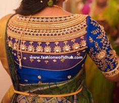 Latest Maggam work blouse designs for Pattu sarees Latest Maggam Work Blouses, Blouse Designs, Sarees, Christmas Sweaters, Fashion, Moda, Saris, Fashion Styles, Christmas Jumper Dress