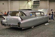1960 Cadillac wagon conversion