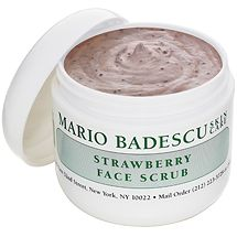 Strawberry Face Scrub from Mario Badescu Skin Care via mariobadescu.com