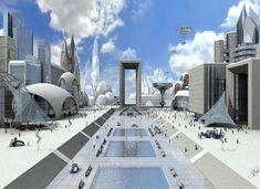 Fondos De Pantalla Ciudades Futuristas Para Fondo Celular En Hd 13 HD Wallpapers